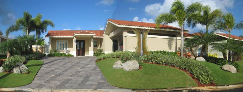 Gramaslindas, inc.   diseño paisajista residencial en puerto rico