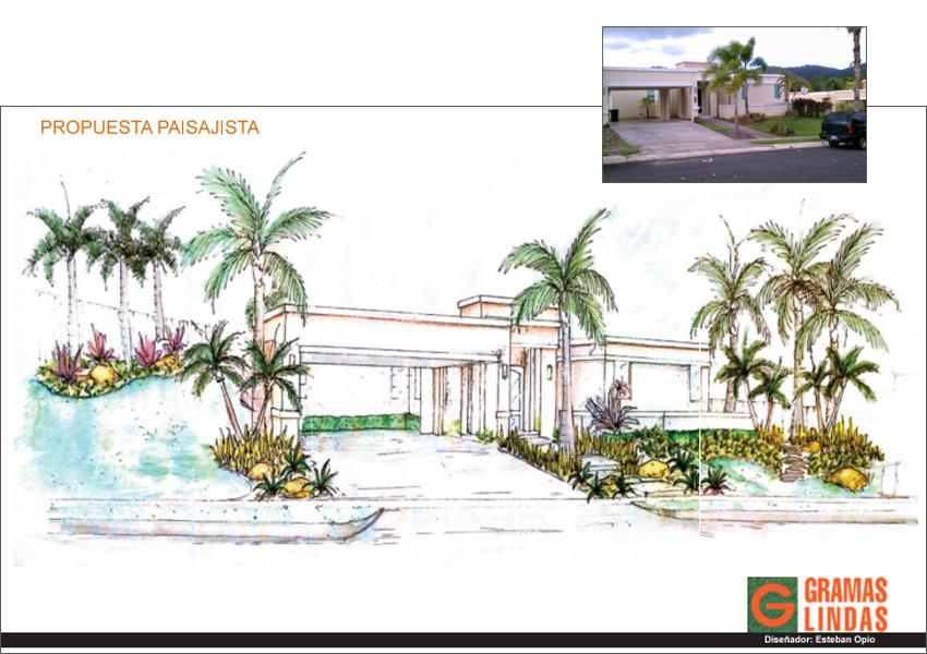 Gramaslindas inc dise o paisajista residencial en for Jardin paisajista